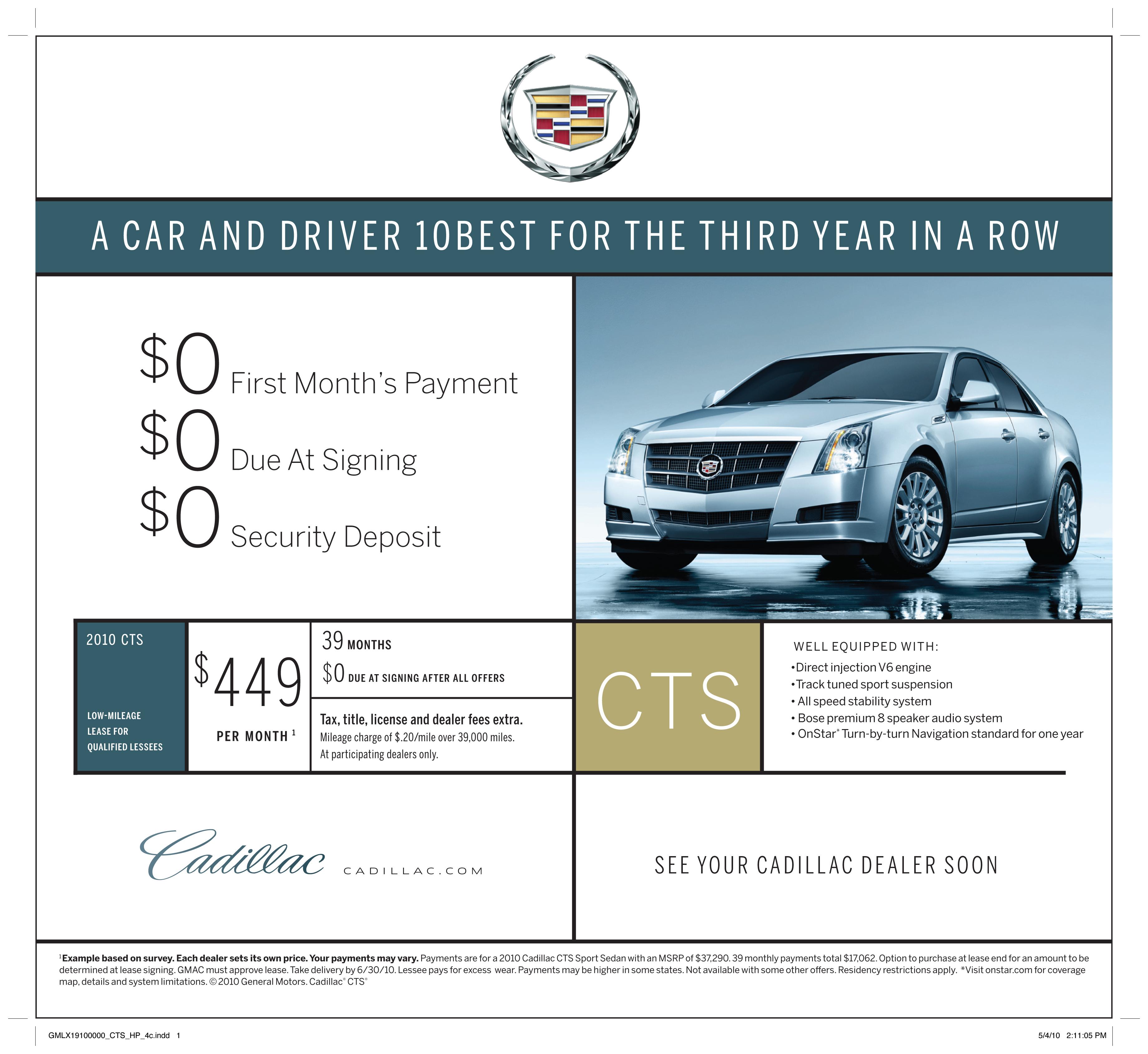2010 Cadillac CTS « Coulter Motor Company