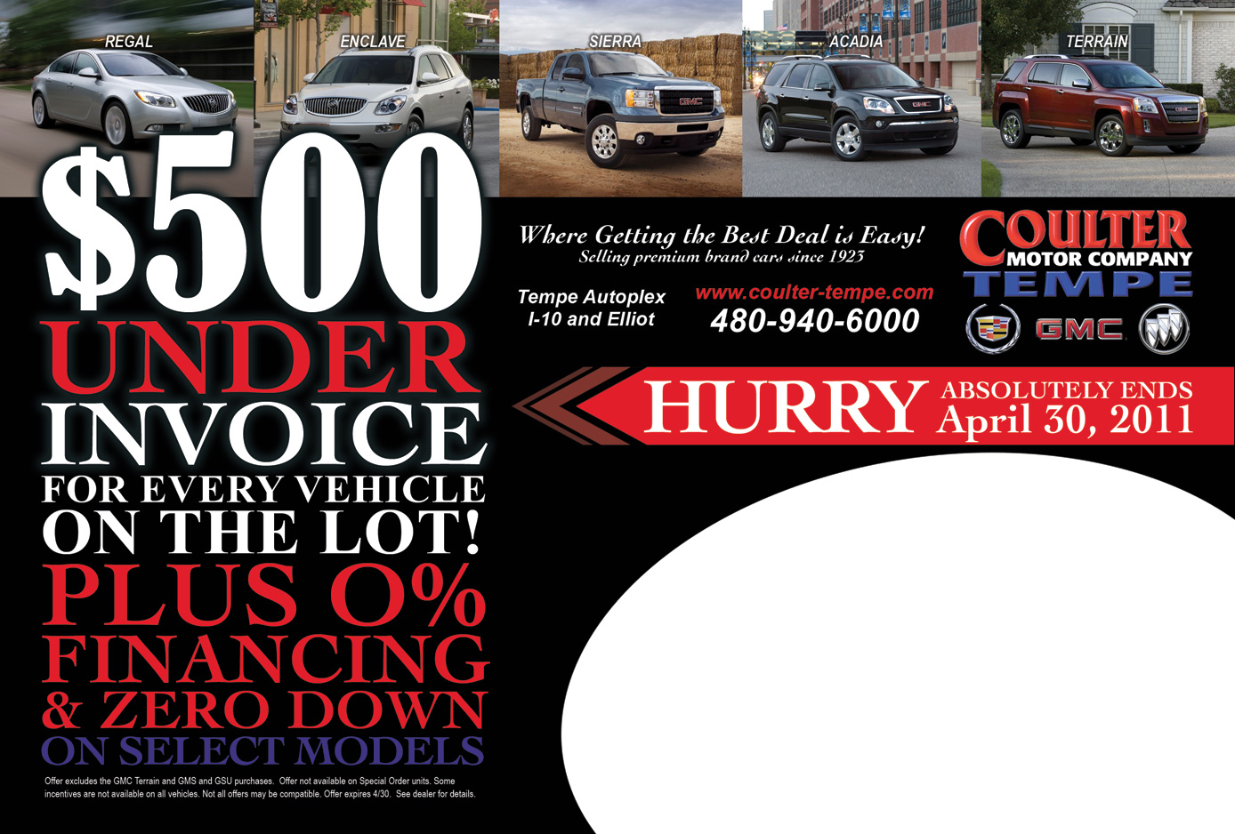 Tempe gmc truck dealer coulter motor company for Coulter motor company tempe