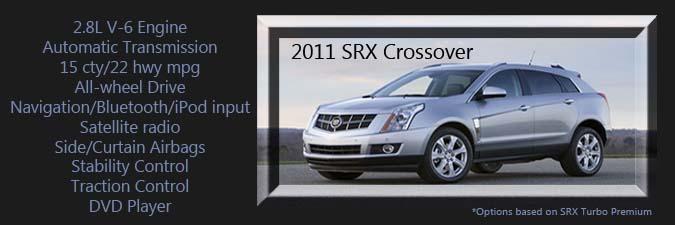 Cadillac Srx Crossover Coulter Motor Company