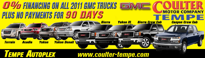 New car specials coulter motor company for Coulter motor company tempe