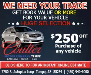 We want your trade coulter motor company for Coulter motor company tempe